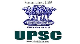 Union Public Service Commission 1189