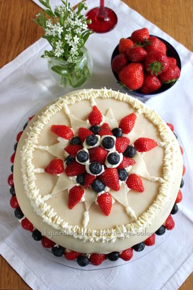Il giardino dei sapori e dei colori marsipankake torta for Cucina norvegese