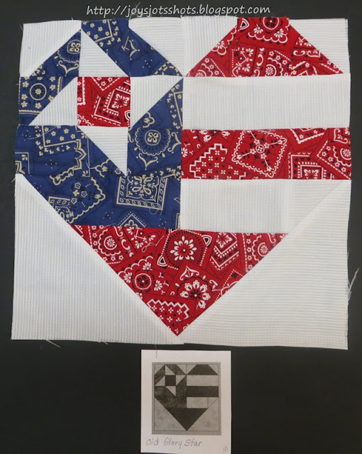 http://joysjotsshots.blogspot.com/2013/07/quilt-block-shot-3-old-glory-star.html