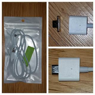 Cable magnético recibido