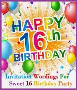 sample invitation wordings