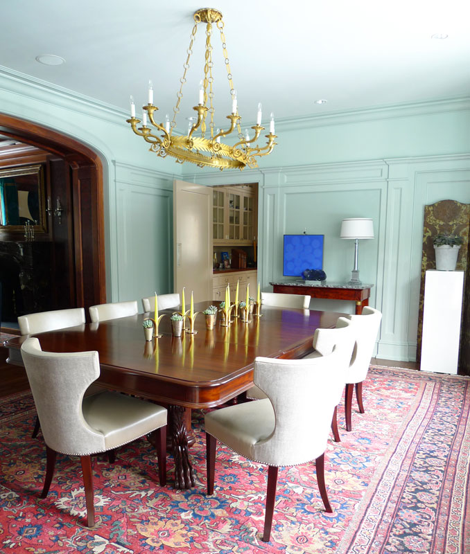 Modern Dining Room Rugs: New Home Interior Design: More Of Frank Roop Designs