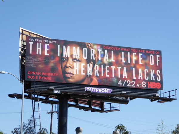 Oprah Winfrey Henrietta Lacks billboard