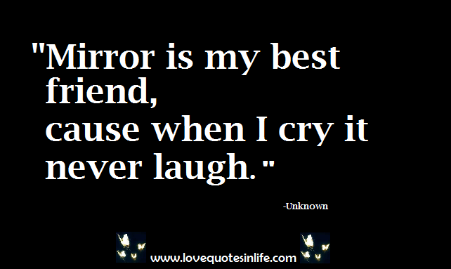 Quotes About Love Tagalog 2014 Kilig Mirror is my best frie...