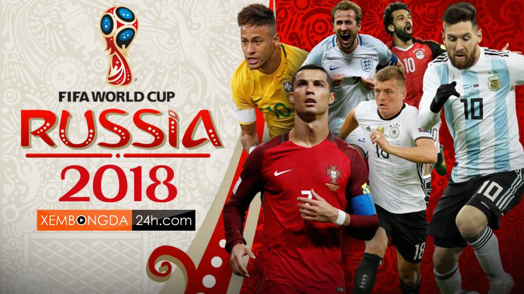 Lịch phát sóng World Cup 2018 chính thức trên kênh VTV