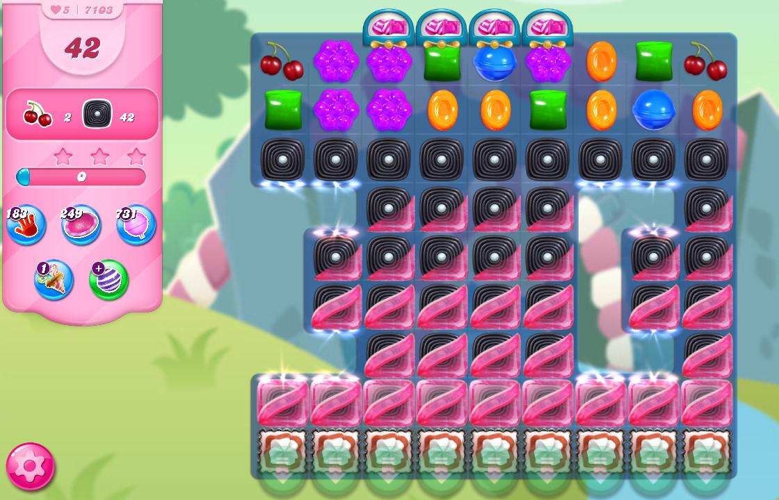 Candy Crush Saga level 7103