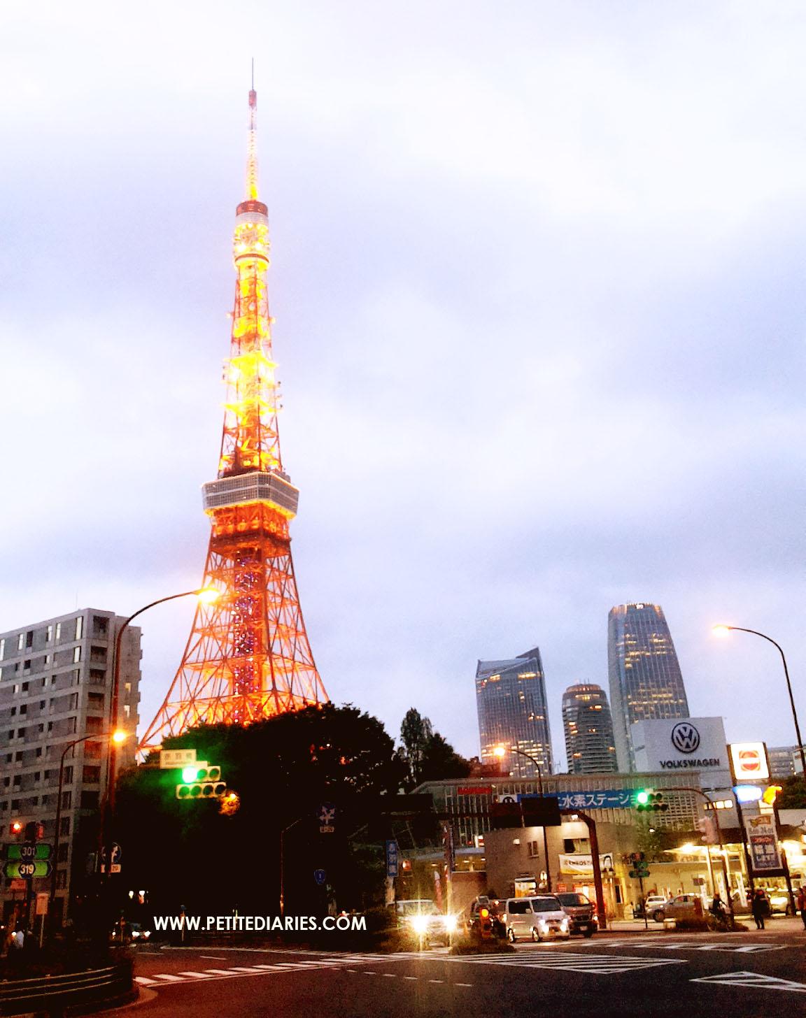 tokyo tower akabanebashi