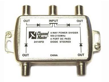 Splitter de tipul all ports power pass