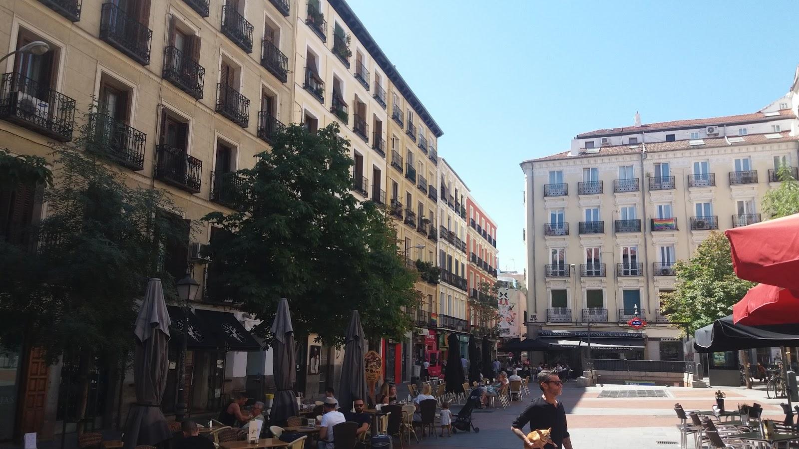 MADRID CON ENCANTO: Plaza de Chueca y Mercado de San Antón