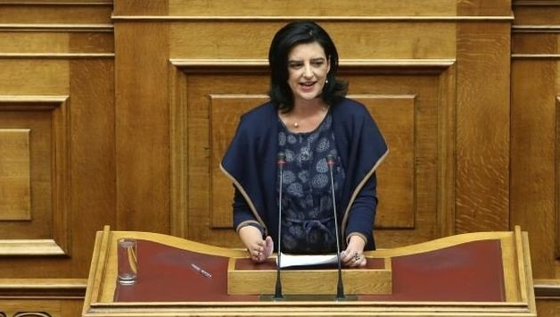 Greek MP Fotini Vaki considered a crime of racist character the murder of the Albanian in Corfu