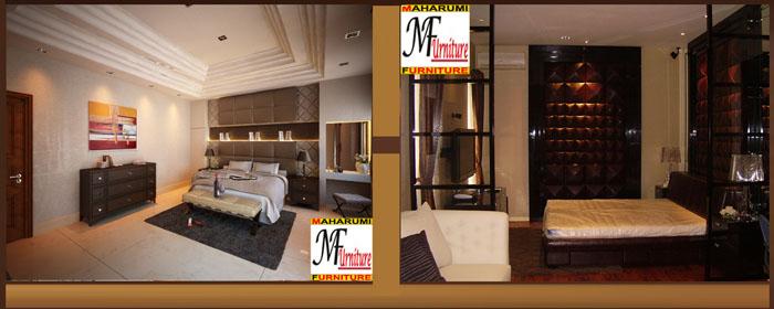 custom setting interior master bedroom