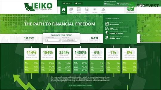 Jeiko LTD: обзор и отзывы о jeiko.biz (HYIP платит)