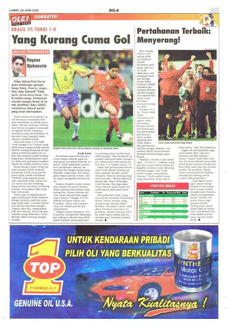 BRASIL VS TURKI 1-0 YANG KURANG CUMA GOL