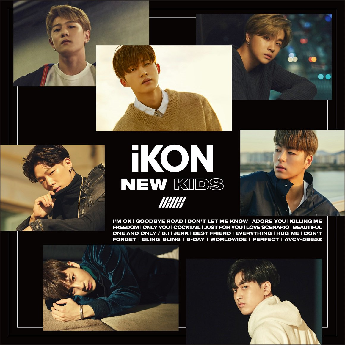 iKON - NEW KIDS Repackage JP ver  Album is Already Available