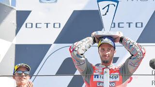 MOTO GP - Dovizioso, Márquez y Crutchlow acaparan el podio de San Marino