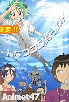 Umishou - Kenkoo Zenrakei Suieibu Umishou, Umisho High School Naked Swimming Club, Umisho 2013 Poster