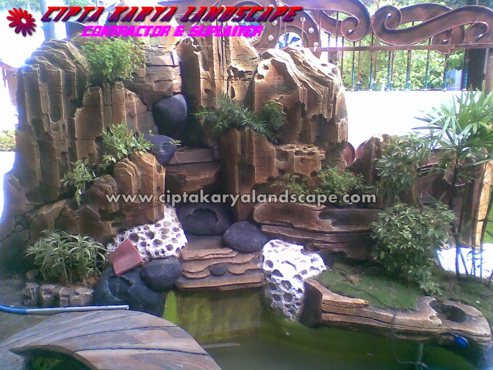 GALERI FOTO TAMAN TEBING AIR TERJUN Jasa Tukang Taman