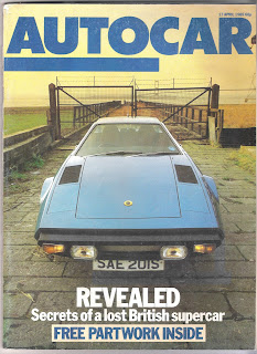 Glenfrome Delta - Autocar article April 1985 front cover