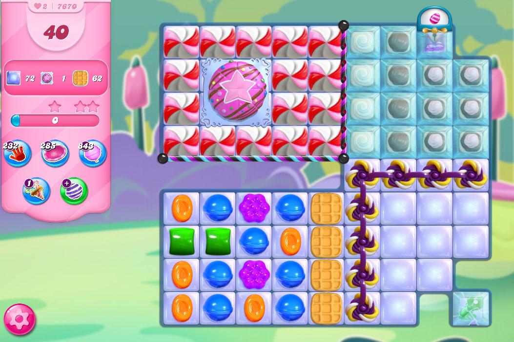 Candy Crush Saga level 7670