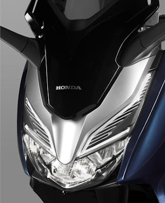 Honda Forza 300 2018 atau Forza 250 desain lampu depan