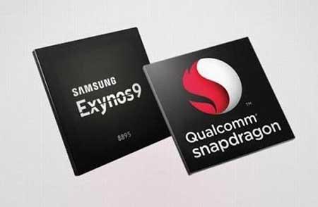 Snapdragon 835 + Exynos 8895