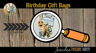 Birthday Bags for Students