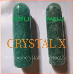 ciri ciri crystal x asli dan palsu
