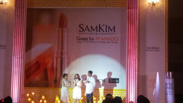 Gelar Produk Korea, SamKim Skin Care And Cosmetics Goes To Manado