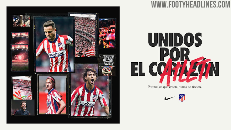 Atletico Madrid 20 21 Home Kit Released Footy Headlines