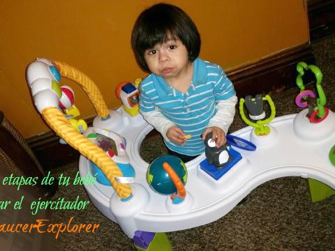 En tres etapas de tu bebé puede estar el Ejercitador #ExerSaucerExplorer  #Ad