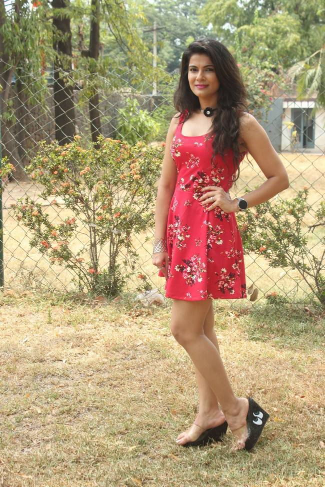Manisha Shree At Bongu Movie Team Meet Stills