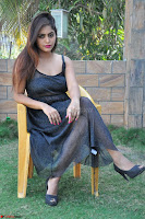 Pragya Nayan New Fresh Telugu Actress Stunning Transparent Black Deep neck Dress ~  Exclusive Galleries 038.jpg