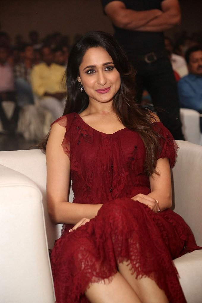 Pragya Jaiswal at Nakshatram Movie Audio Launch Stills