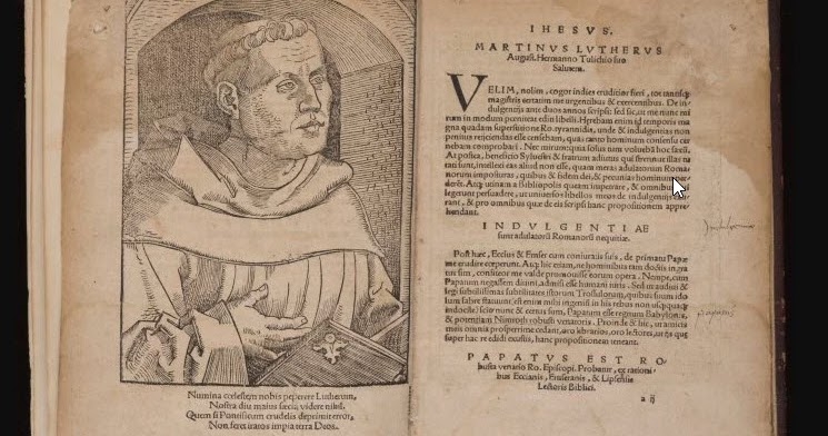 Ninety five theses of martin luther s t r a v a g a n z a fandeluxe Gallery