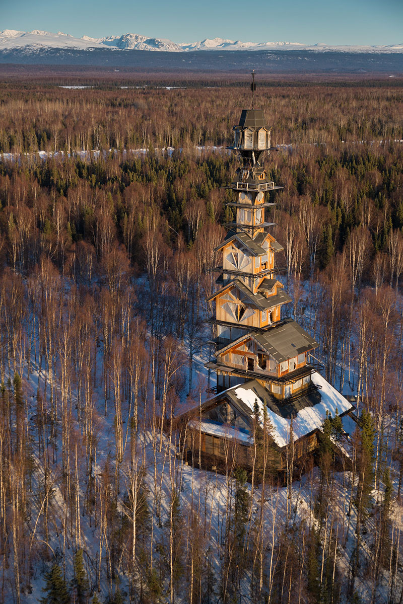Goose creek tower by phillip weidner for Alaska cottage