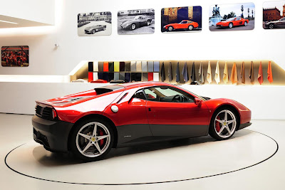 Ferrari SP12 EC by Eric Clapton