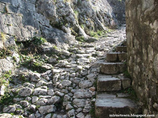 Котор - путь в крепость