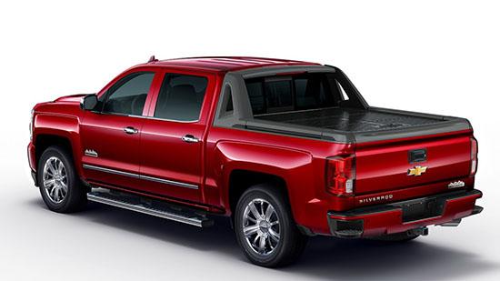 Burlappcar: Chevrolet Avalanche wannabe: 2017 Silverado High Desert ...
