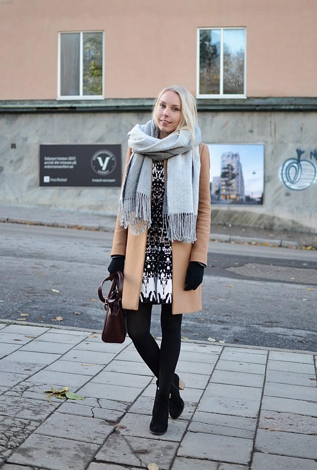 Zara talvitakki Karen Millen mekko