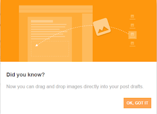 Image Drag and Drop Feature to Upload Image on Blogger