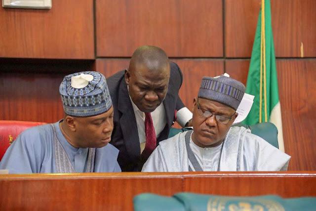Saraki's National Assembly threatens Buhari of Impeachment , lists demands  (Video)