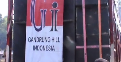 gandrung hill indonesia