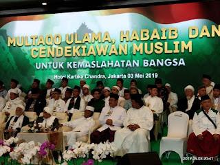 Ulama se-Nusantara Sepakat Ciptakan Kedamaian Pasca Pemilu
