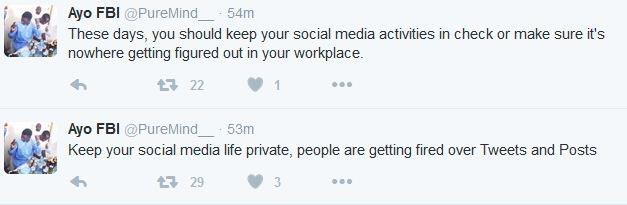 "Bank sacks employee for tweeting ""Fuck, I hate my job"" (see tweets)"