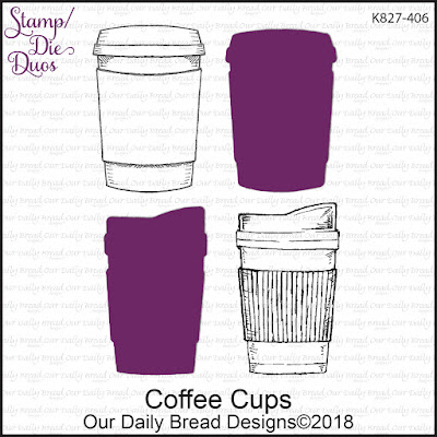 Stamp/Die Duos: Coffee Cups