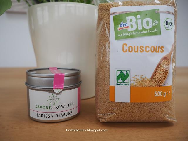 Couscous und Harissa