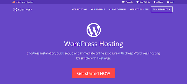 Review On Hostinger Wordpress Hosting