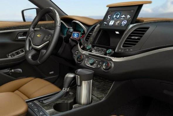 2016 Chevy Impala SS Interior