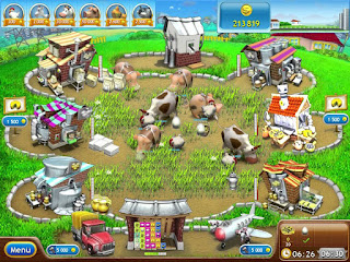 Free Download Farm Frenzy 1 Versi Pizza Party PC Games Full Version ZGASPC