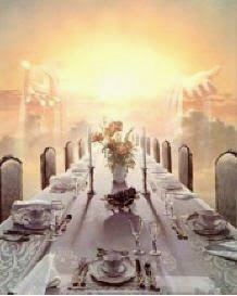 The banquet table in heaven